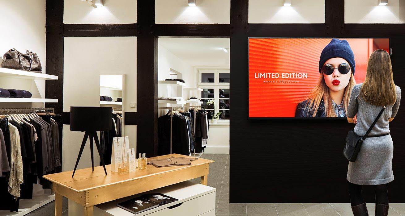 Easily elevate business branding and messaging with brilliant and durable signage